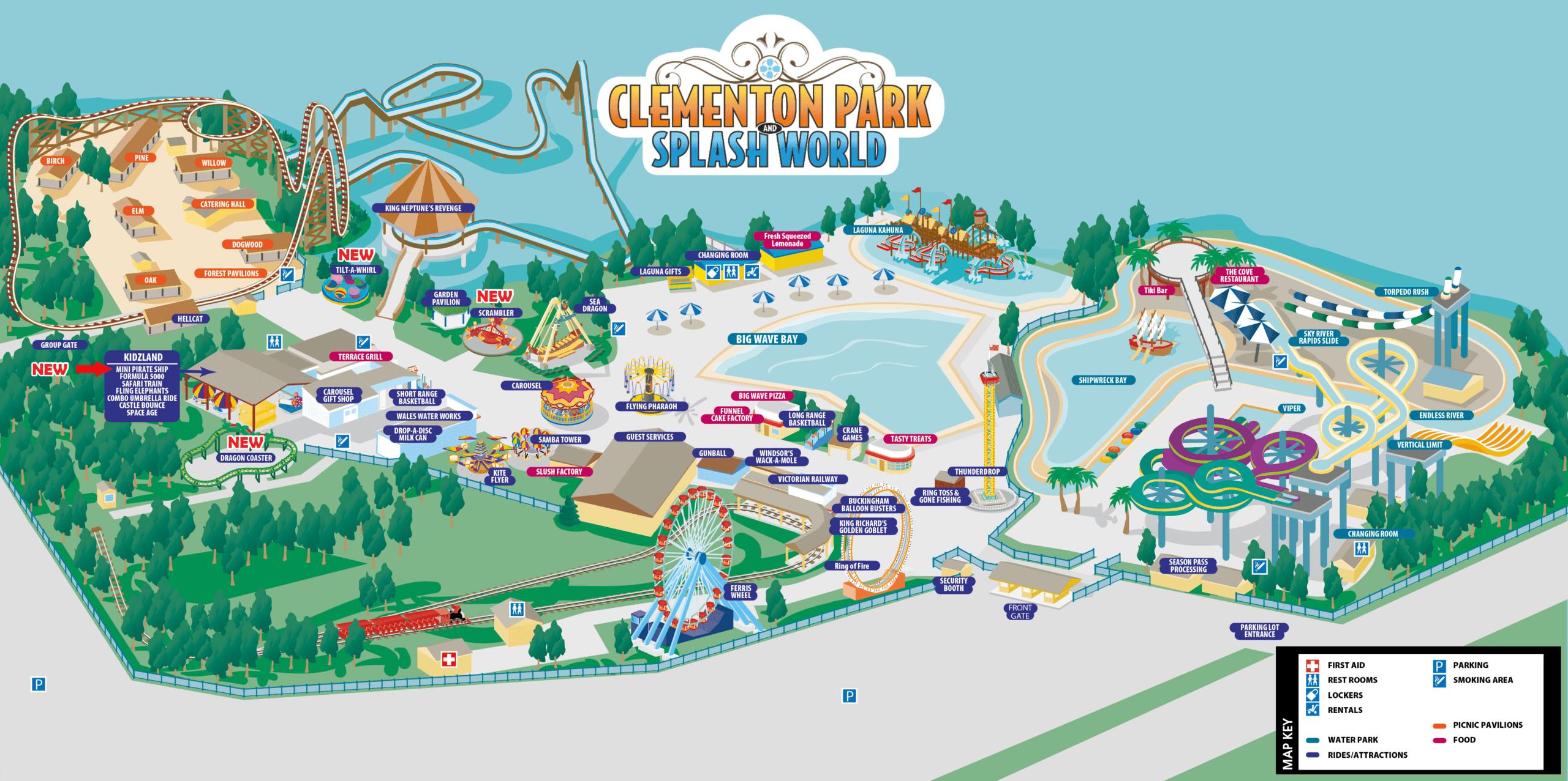 Park Map-clem